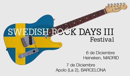 Cartel del Swedish Rock Days