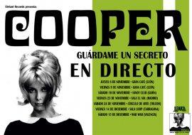 Cartel de la gira de Cooper