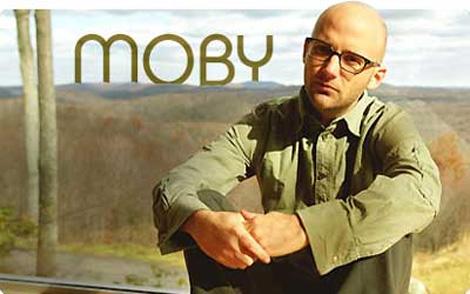 El artista Moby