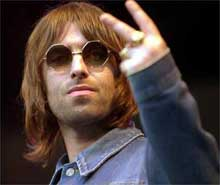 Liam Gallagher de Oasis