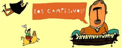 Cabecera de la web oficial de Los Campesinos!