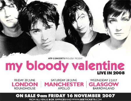 La vuelta a los escenarios de My Bloody Valentine