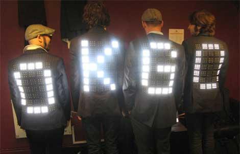Los nuevos trajes luminosos de Ok Go
