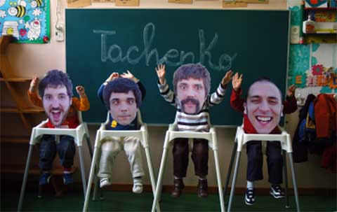 Imagen promocional del grupo Tachenko