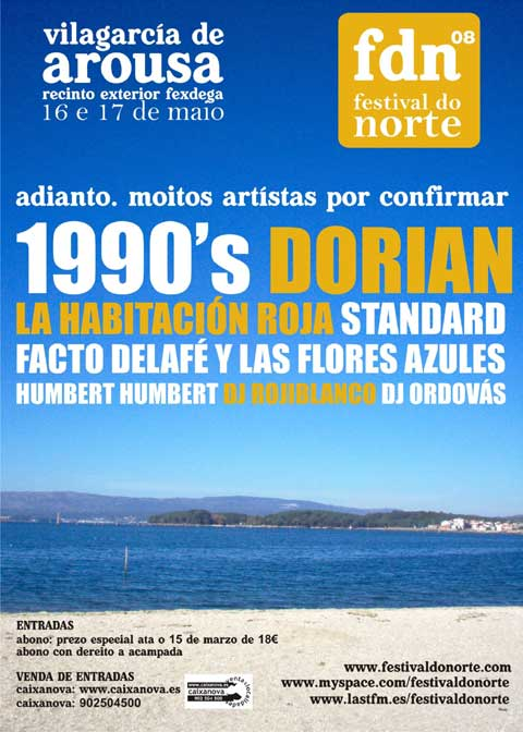 Cartel del Festival Do Norte