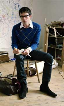 El artista Graham Coxon
