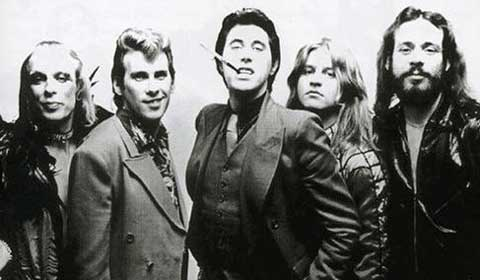 El grupo Roxy Music