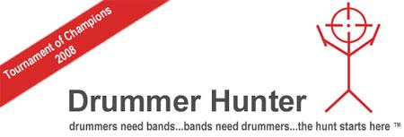 Cabecera de la web www.drummerhunter.com
