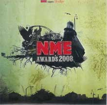 Caratula del NME Awards CD