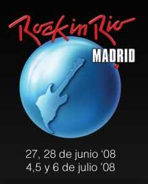 Logo del Rock in Rio Madrid