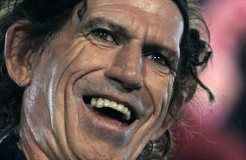 El artista Keith Richards