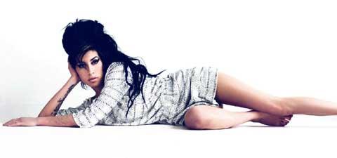 La artista británica Amy Winehouse