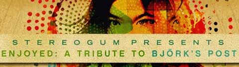 Imagen promocional del tributo al Post de Björk hecho por Stereogum