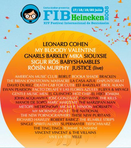 Cartel del FIB 2008