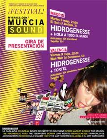 Cartel anunciador del Murcia Sound