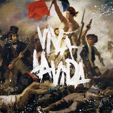 Portada del Viva la Vida de Coldplay
