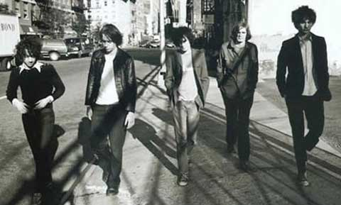 La banda The Strokes