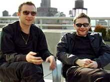 Damon Albarn y Jamie Hewlett