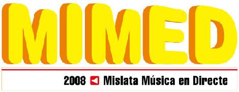Logo del festival de musica MIMED 2008