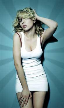 La actriz y cantante Scarlett Johansson