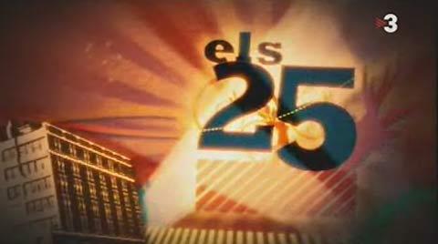 Imagen del concurso Els 25 de TV3