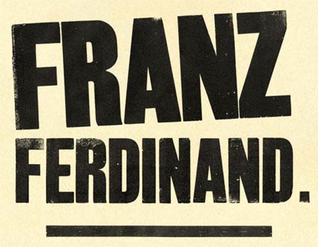 Logo Franz Ferdinand