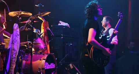 Los The Fratellis durante un concierto