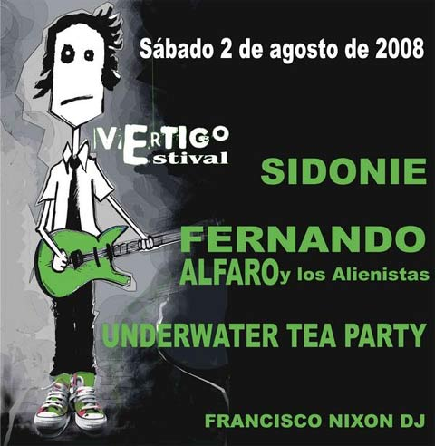 Primeros confirmados del Vértigo Festival 2008