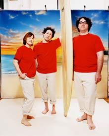 Los integrantes del grupo Yo La Tengo