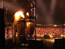 Imagen de la celebración del Zaidín Rock 2004