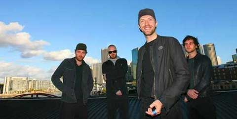 El grupo Coldplay