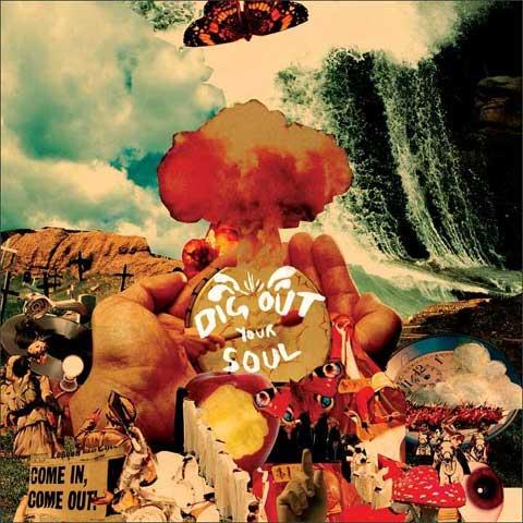Carátula del Dig Out Your Soul de Oasis