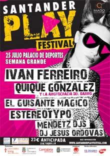Cartel del Santander Play Festival