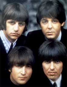 El grupo The Beatles