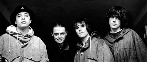 El grupo The Stone Roses