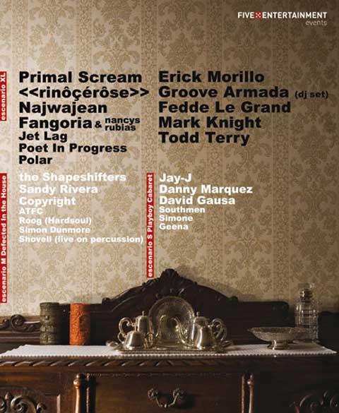 Cartel promocional del T-Shirt Festival Valencia 2008