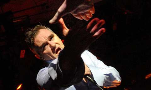 El cantante Morrissey