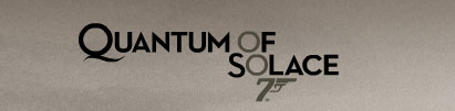 Quantum of Solace, nueva pelicula de James Bond
