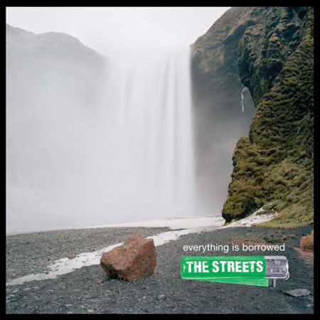 Portada del disco de The Streets - Everything is Borrowed