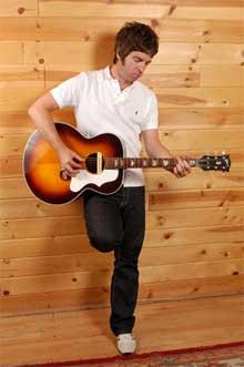 El músico Noel Gallagher