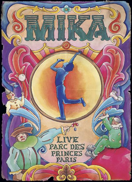 Portada del DVD de Mika