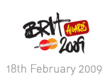 Logo de los Brit Awards de 2009