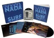 Caja especial con las reediciones en vinilo de los discos de Nada Surf