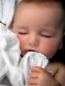 Imagen de un bebé dormido