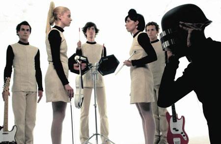 El grupo de musica La Casa Azul
