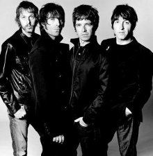 Los integrantes del grupo Oasis
