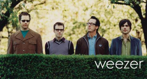 Los integrantes del grupo Weezer