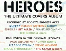 Imagen promocional del disco Heroes a beneficio de War Child