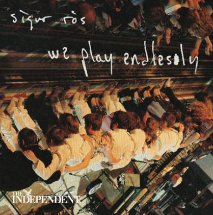 Portada del disco que regala The Independent de SIgur Ros