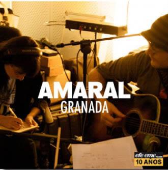 Portada del EP Granada de Amaral
